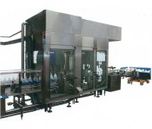 Filling, capping and heat-sealing machines
